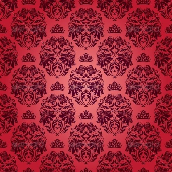 Ткань узор дамаск 133