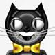 Tick Tock Cat Clock