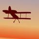 Biplane Circling