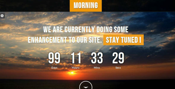 morning responsive underconstruction template by jogjafile