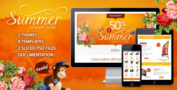 summer season sale by ahmeng themeforest