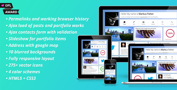 Frittata - Responsive Personal Template by voky   ThemeForest