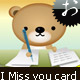 miss you ecard