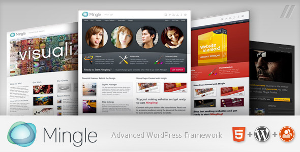 Mingle - Multi-purpose WordPress Theme by Parallelus | ThemeForest
