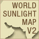 World Sunlight Map Version 2