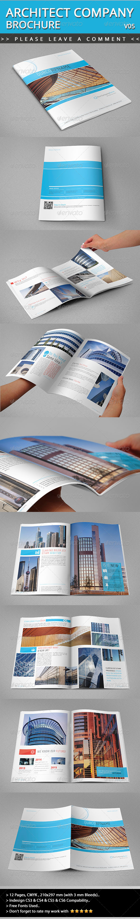 Architecture Brochure Template  40 Free PSD PDF EPS