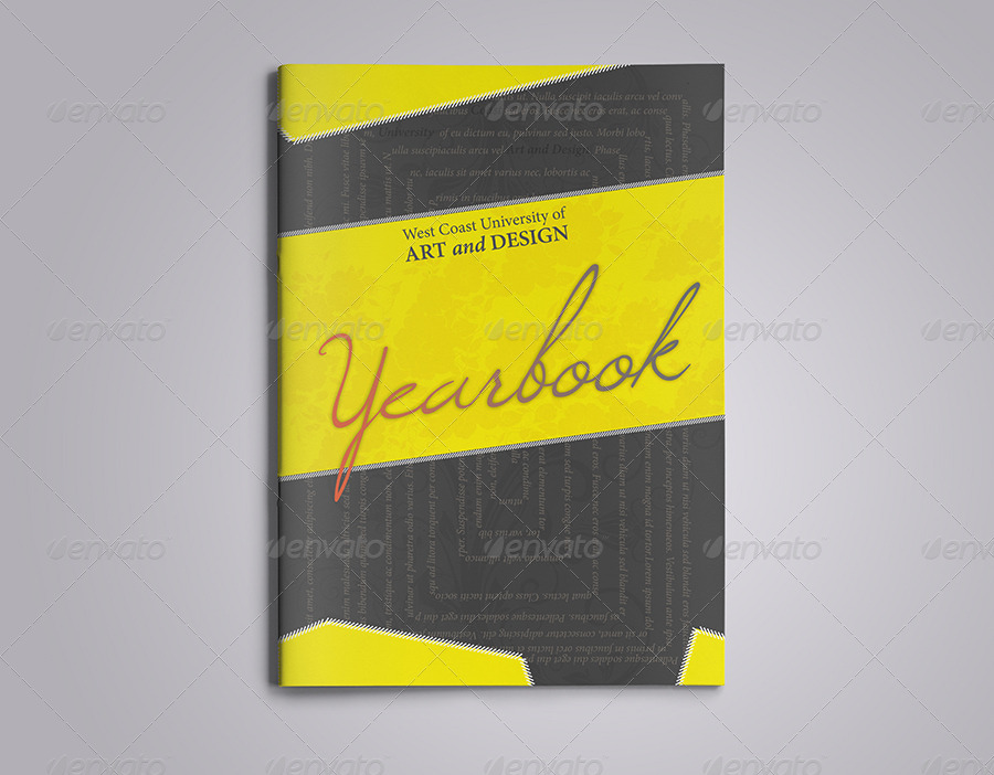 Yearbook Powerpoint Template