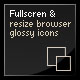 Resize & Align Web 2.0 Icons & Page + Fullscreen
