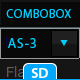 Dynamic XML Combobox Menu AS-3