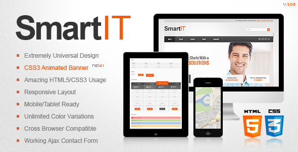 SmartIT Responsive HTML5/CSS3 Template by ThemeMakers | ThemeForest