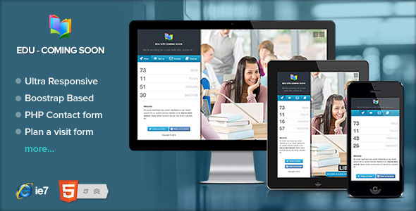 EDU - Educational, Courses coming soon page by Ansonika | ThemeForest