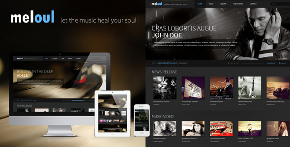 Meloul - Music and Band HTML5 Template by templaza | ThemeForest