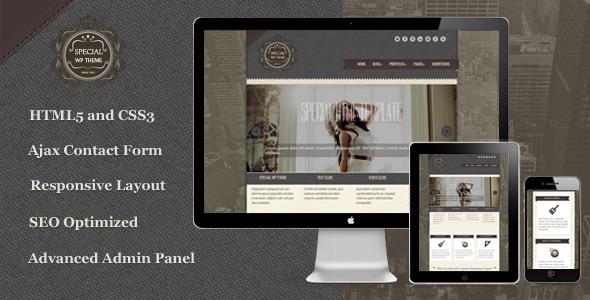 Special - Responsive WordPress Theme by Lesya | ThemeForest