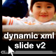 Dynamic xml slide with easing v2