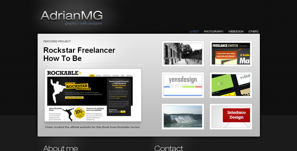 ThemeForest - Dark Elegance - RIP
