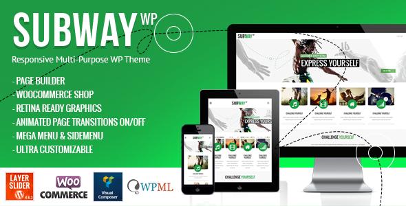 Subway - Responsive Multi-Purpose WordPress Theme by QODE | ThemeForest