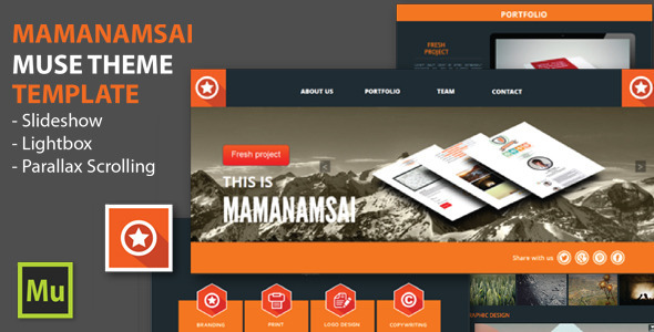 Mamanamsai Muse Theme by mamanamsai | ThemeForest