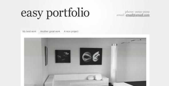 easy portfolio portfolio creative