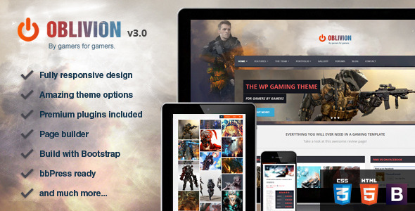 Oblivion - The Ultimate Multi-Purpose Gaming Theme by Skywarrior ...