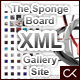 The Sponge Board XML Gallery Site Template