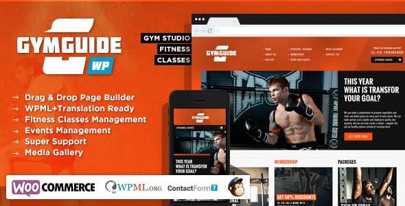 Gym Guide - Fitness Sport Wordpress Theme by Chimpstudio | ThemeForest