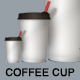 Coffee Cups - GraphicRiver Item for Sale