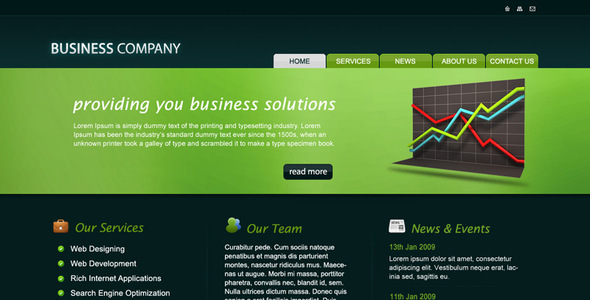 Business company psd template by rjoshicool themeforest business company psd template business corporate wajeb Choice Image