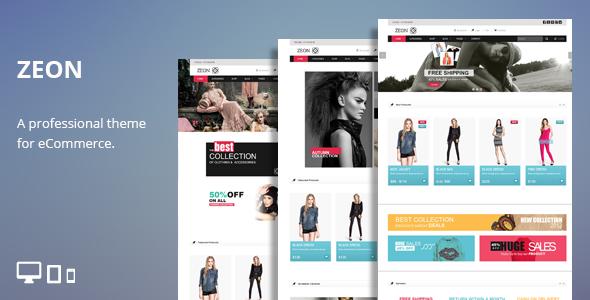Zeon - eCommerce HTML Theme by TeslaThemes   ThemeForest
