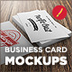 10 Photorealistic Business Card Mockups-Graphicriver中文最全的素材分享平台