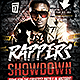 Rappers Showdown Flyer Template -Graphicriver中文最全的素材分享平台