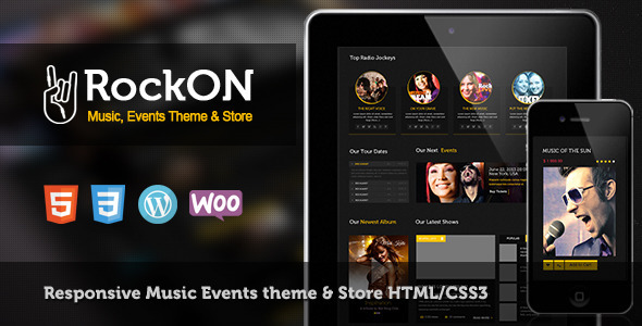 RockOn - Multipurpose Music WP Theme by CrunchPress | ThemeForest