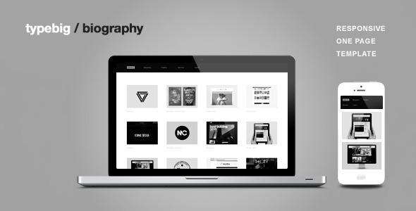 Biography - One Page Portfolio Joomla Template by erwin_schro ...