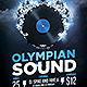 Olympian Sound Flyer Templa-Graphicriver中文最全的素材分享平台
