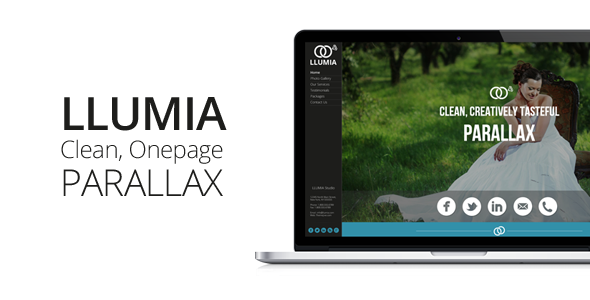 Llumia muse wedding template by themejive themeforest llumia muse wedding template creative muse templates wajeb Images