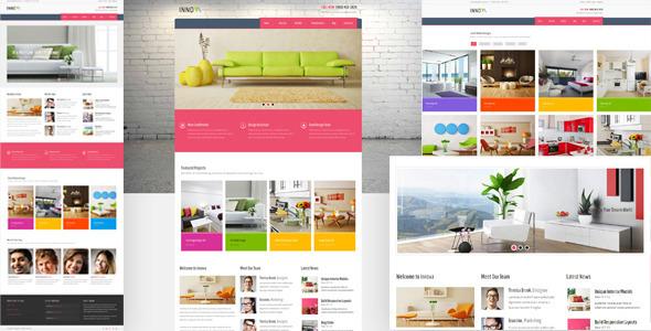 Innova - Interior & Funiture WordPress CMS Theme by kayapati ...