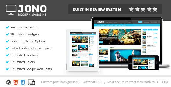 Jono Responsive WordPress Magazine Theme by wellthemes | ThemeForest