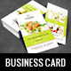 Restaurant Business Card-Graphicriver中文最全的素材分享平台