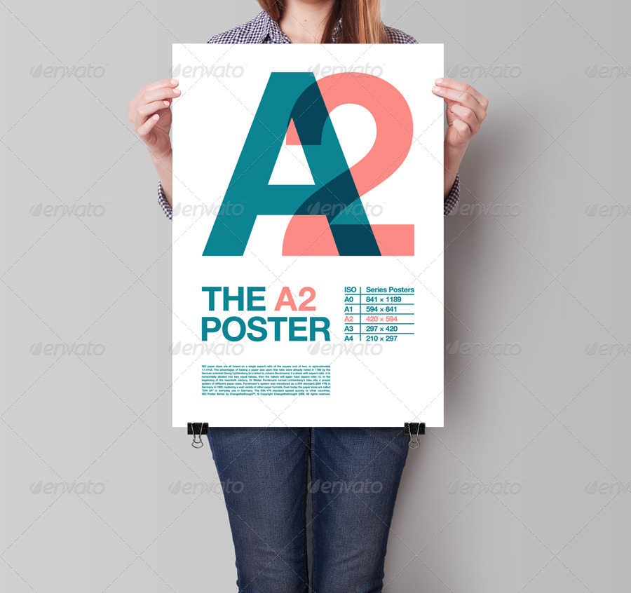 What is the size of a1 poster