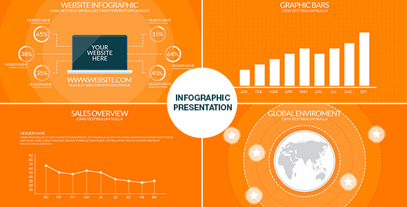 Infographics free after effects