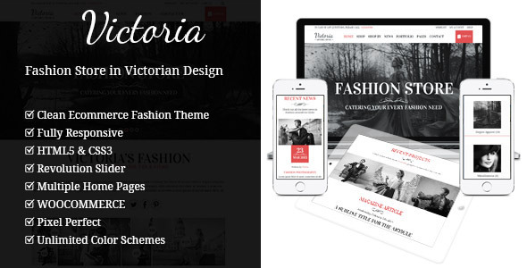 Victoria - Fashion WooCommerce Wordpress Theme by gljivec | ThemeForest