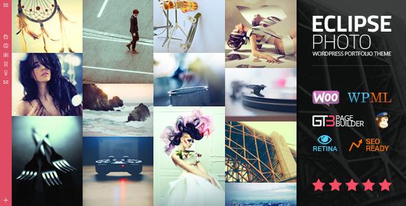 eClipse Photo Portfolio WordPress Theme by GT3themes   ThemeForest