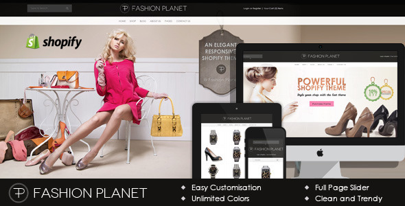 fashion planet shopify theme fashion shopify
