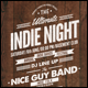 Vintage Indie Night Flyer/P-Graphicriver中文最全的素材分享平台