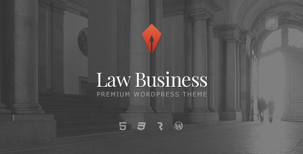 LawBusiness - Attorney & Lawyer WordPress Theme by cmsmasters ...