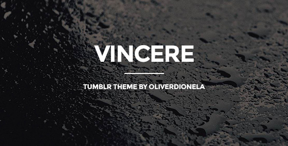 Vincere business tumblr theme business tumblr