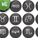 Runes Set from Norse Mythology