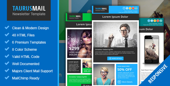 Taurus metro responsive newsletter template by pophonic themeforest taurus metro responsive newsletter template email templates marketing spiritdancerdesigns Images
