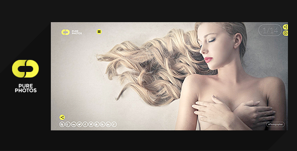 Pure Photo - Multi-Purpose Photography Theme by Serzh | ThemeForest