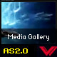 Dynamic flash media gallery