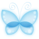 Beautiful Blue Butterfly - GraphicRiver Item for Sale